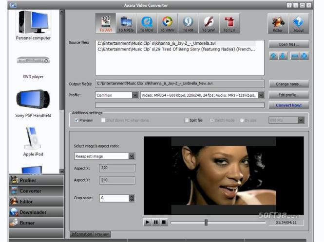 All-in-One Video Converter Screenshot 3