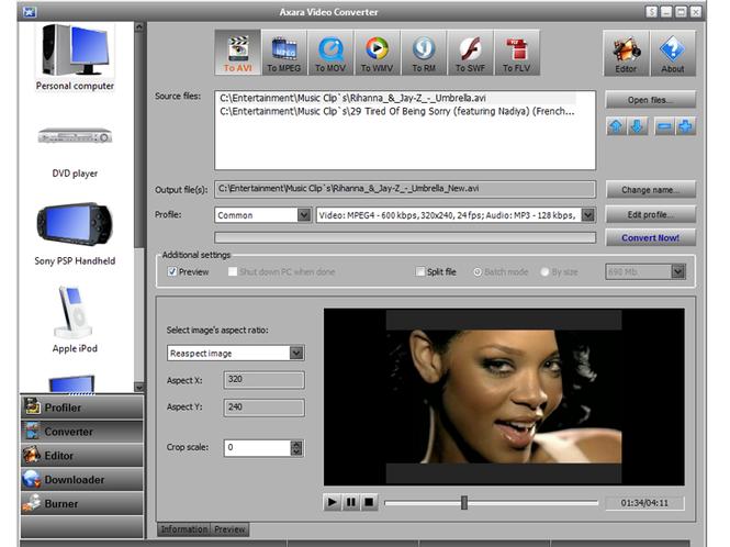 All-in-One Video Converter Screenshot