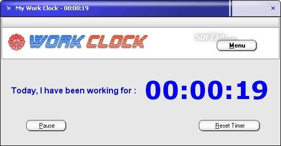 Work Clock Screenshot 3