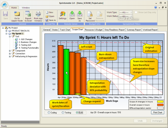 Sprintometer Screenshot 3