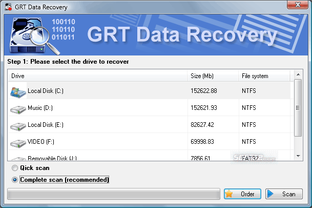 GRT FAT Data Recovery Screenshot 3