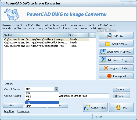 PowerCAD DWG to Image Converter Screenshot 3