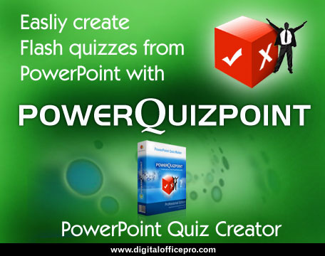 PowerQuizPoint - Quiz Creator Software Screenshot