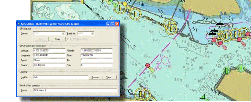 Eye4Software GPS Toolkit Screenshot 1