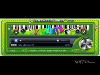EarthMediaCenter online music radio Screenshot 3
