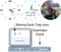 Skinny Clock 1