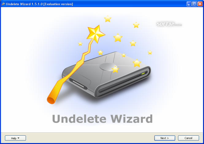 Undelete Wizard Screenshot 2