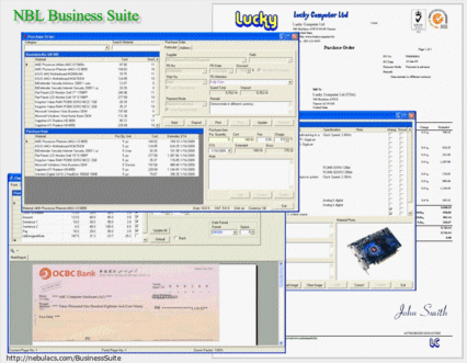 Nebula Business Suite Screenshot