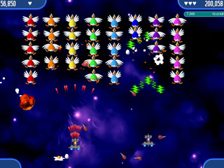 Chicken Invaders 2 Mac Screenshot 1