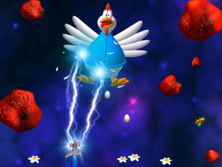 Chicken Invaders 3 Mac Screenshot