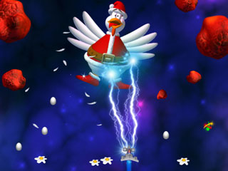 Chicken Invaders 3 Xmas Mac Screenshot 3