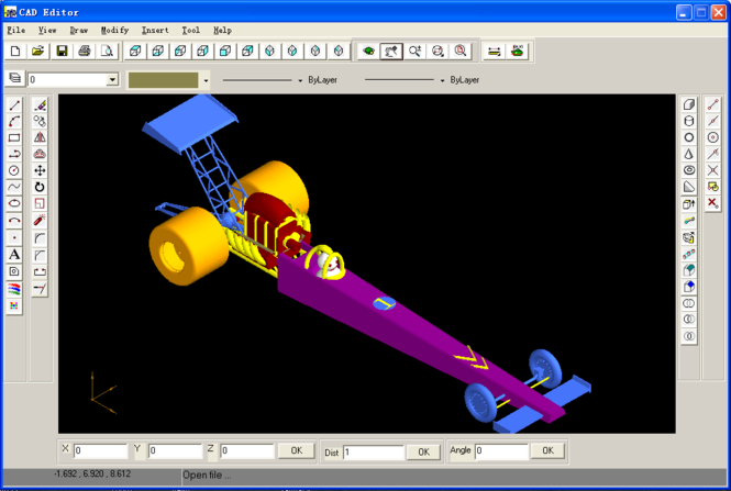 EWDraw CAD Component Screenshot