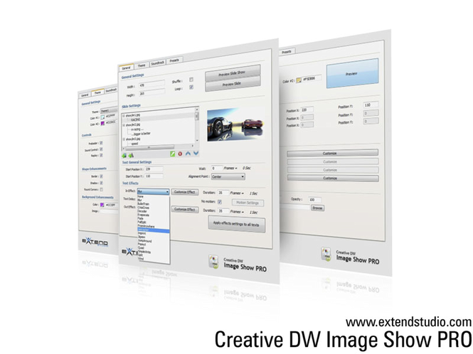 Creative DW Image Show Pro Screenshot 1