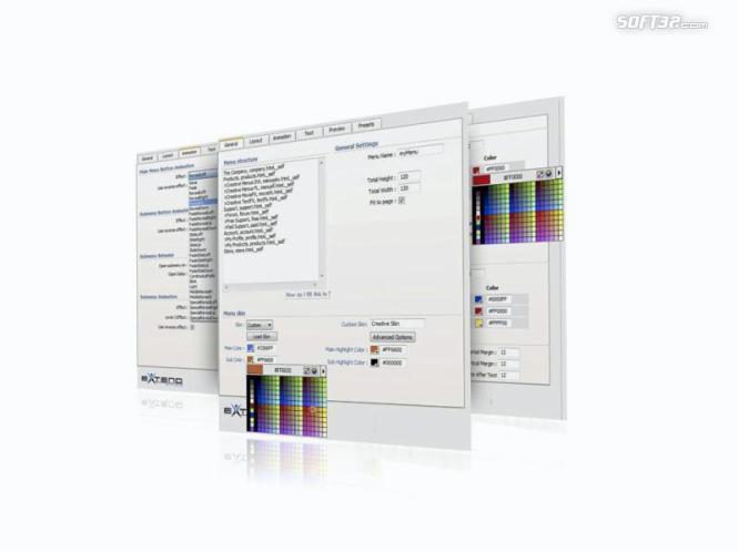 Creative DW Menus Pack Designer Screenshot 2