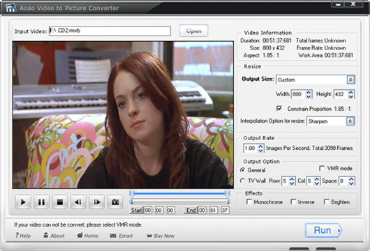 Aoao Video to Picture Converter Screenshot 2