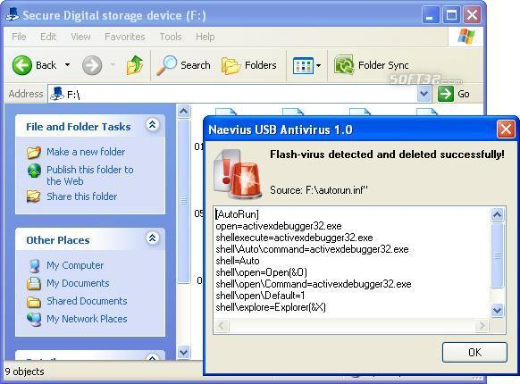Naevius USB Antivirus Screenshot 2