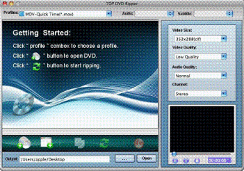 TOP DVD Ripper for Mac Screenshot