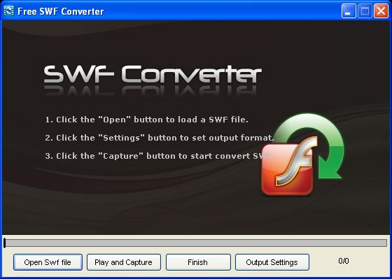 Free SWF Converter Screenshot