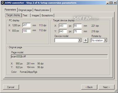 Zebradoc DjVu Converter Screenshot 2