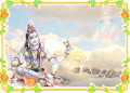 Lord Shiva at the Mount Kailash 1