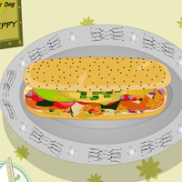 Cooking Game- Cook Chicago Hot Dog Screenshot 1
