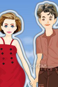 Beach Couple Dress Up Game Screenshot 2