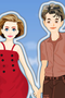 Beach Couple Dress Up Game 1