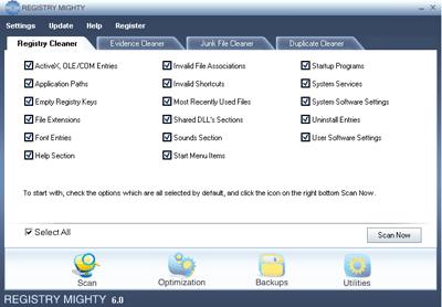 Registry Mighty Screenshot