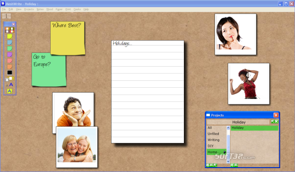 MeshWrite for Windows Screenshot