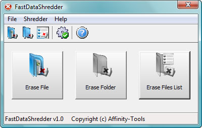 FastDataShredder Screenshot