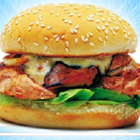 Cooking Game-Make Chicken Burger Screenshot