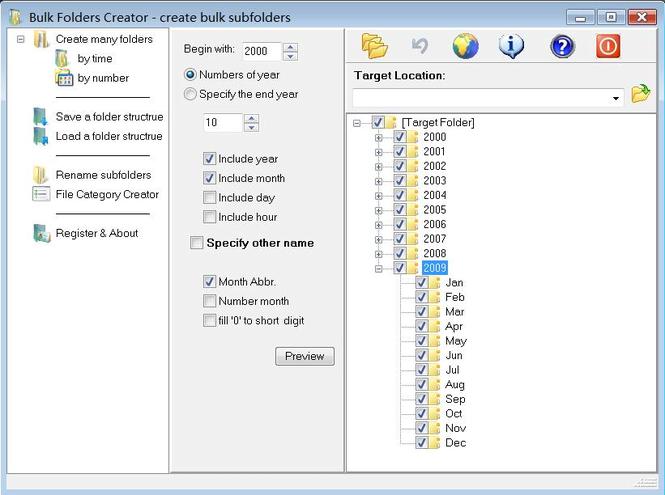 Bulk Folders Creator Screenshot 1