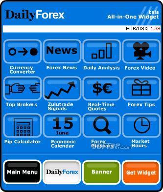 Forex All-In-One Widget Screenshot 2