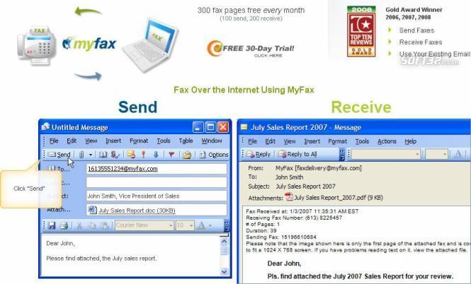 My Fax Online Screenshot 2