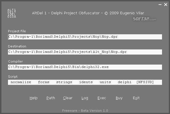 AltDel Screenshot 2