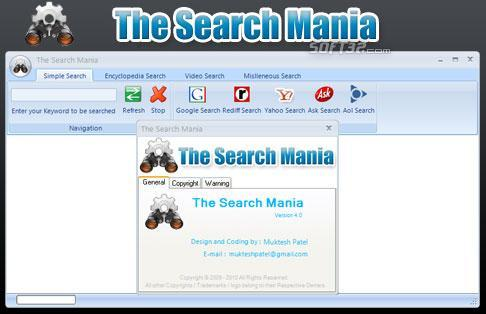 The Search Mania Screenshot