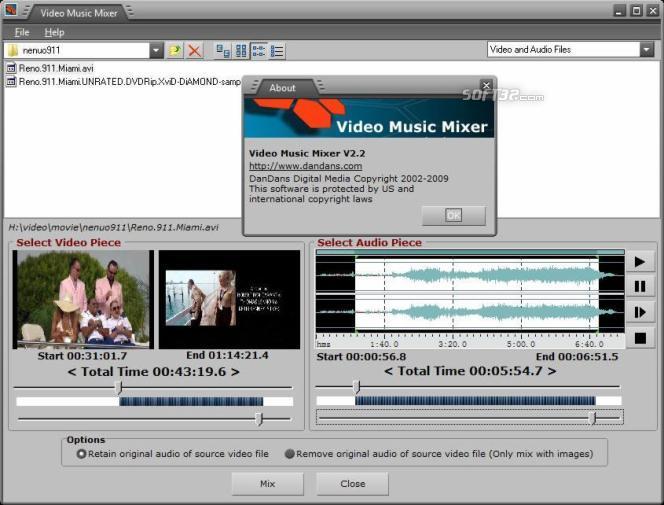 Video Music Mixer Screenshot 2