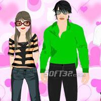 Dress Up Celebrity Couple Screenshot 2