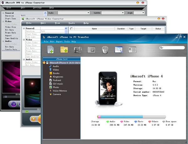 iMacsoft iPhone Mate Screenshot 1