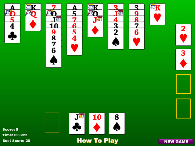 Bristol Solitaire Screenshot