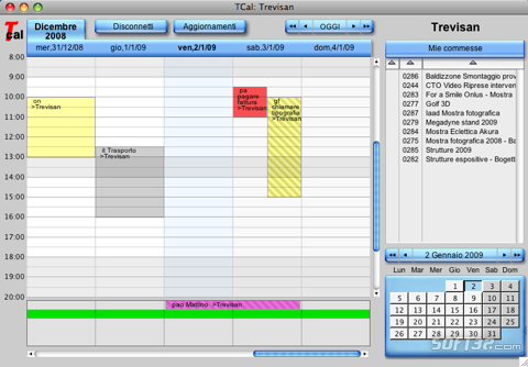 Tcal Calendar Screenshot 2
