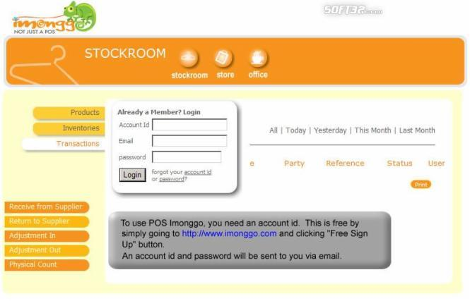 POS Software Imonggo Screenshot 3