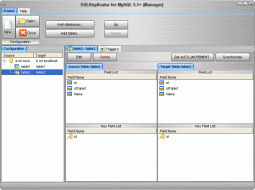 SQLReplicator for MySQL 5.1+ Screenshot