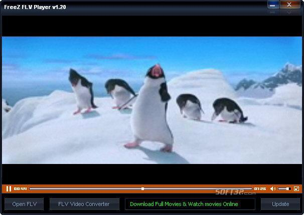 FreeZ FLV Player Screenshot 1