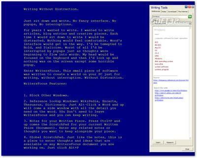 M6.Net WritersFocus Screenshot 3