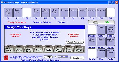 Design Your Keys Screenshot
