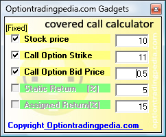 covered_call_calculator Screenshot