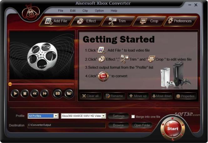 Aiseesoft Xbox Converter Screenshot 2