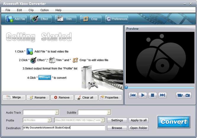 Aiseesoft Xbox Converter Screenshot 3