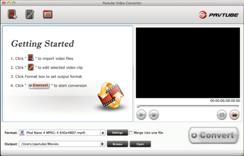 Pavtube Video Converter for Mac Screenshot 1